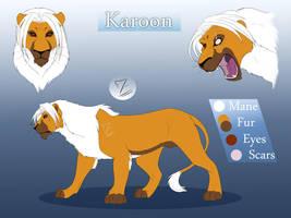 Lion Karoon reference by Mirri