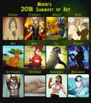 Summary of Art 2018 by Mirri
