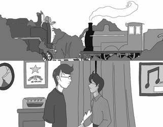 Edward and Hiro engines and human by juriTanaka