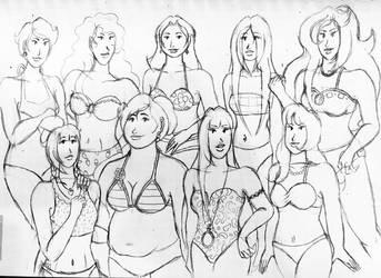 Summer girls by juriTanaka