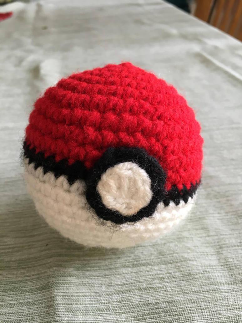 Crochet Pokeball By Hotaruhaku On Deviantart