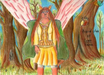 Druidess by AnuOjat