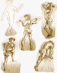 Life Drawing 5 by Re6ilient