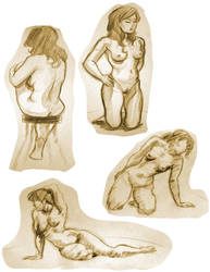 Life Drawing 7 by Re6ilient