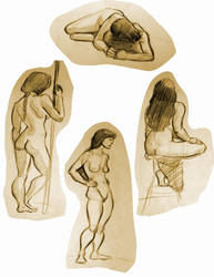 Life Drawing 8 by Re6ilient