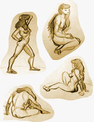 Life Drawing 9 by Re6ilient