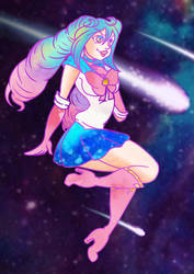 Sailor Scout Mellvine AT by KaiNoKimi