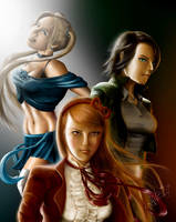 Powerpuff Girls v.2 by tjota