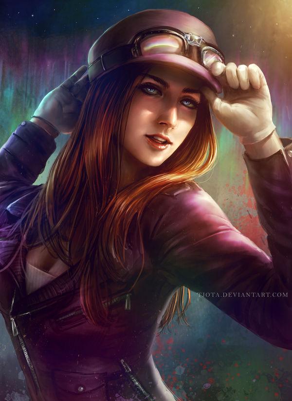 Pilot Girl Leah by tjota