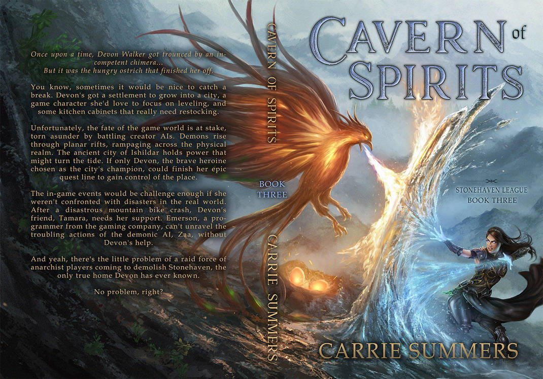 Cavern of Spirits (with text) by tjota