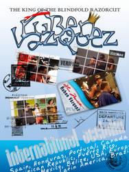 Ruben Vazquez - Poster by levite