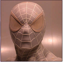 spiderman Lsb face by loqura