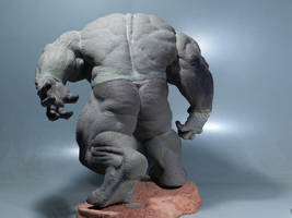 Rhino Sculpture 8 by loqura