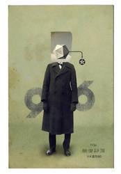 Autoportrait by woefoep