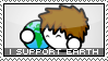 Earth Day Stamp by Oribeqiraj