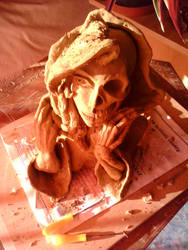 Hel North death goddess by meszaroscsaba