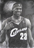 LeBron James by PortraitsbyMayLee