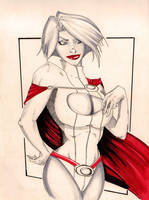 Powergirl's secret money pouch by Marc-F-Huizinga