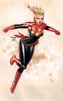 Captain Marvel by Marc-F-Huizinga