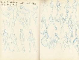 Gestures 1 by Marc-F-Huizinga