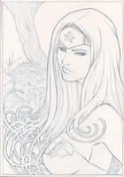 Princess of Themyscira 1 by Marc-F-Huizinga