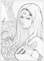 Princess Diana of Themyscira by Marc-F-Huizinga