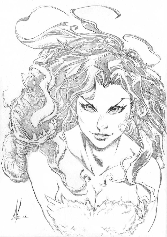 Poison Ivy by Marc-F-Huizinga
