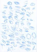 Eyes, eyes and more eyes! by Marc-F-Huizinga