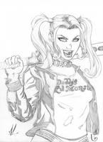 Harley Quinn by Marc-F-Huizinga