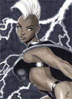 X-Men's Storm Markers by Marc-F-Huizinga