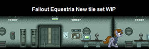 Fallout Equestria Tileset WIP by urimas