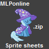 MLPonline Sprite Sheets by urimas
