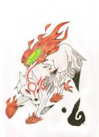 +Okami+ by Blackwolfraptor