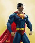Superman - Heroic Determination by gkgaines