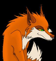 Megara the fox [com] by MadRainbowRabbit