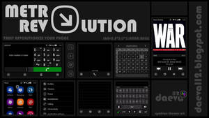 Symbian Theme: Metro Revolution by daeva112