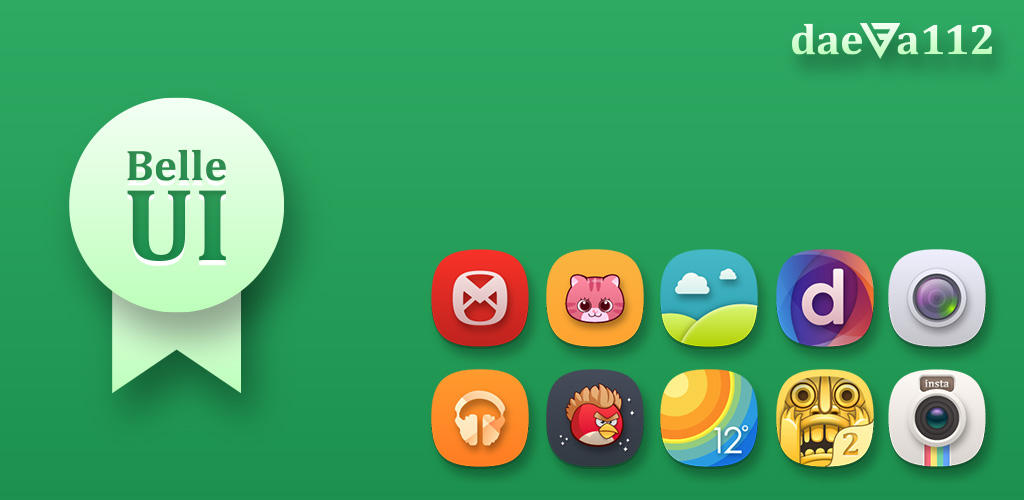 Belle UI Icon Pack for Launcher by daeva112