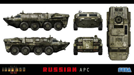 IRONMAN 2 APC Concept Design by takaya