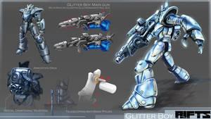 RIFTS Project : Glitterboy by takaya