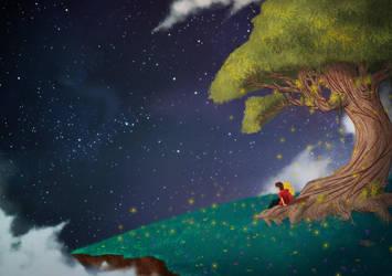 Stars and Fireflies by diegodandrea