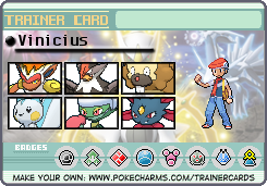 Pokemon DP Remake - Possible Team by Vini310