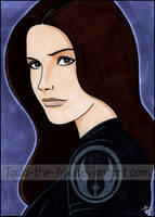 Jaina Solo Sketch Card by Todd-the-fox