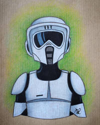 Scout Trooper by Todd-the-fox