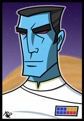 Grand Admiral Thrawn #1 by Todd-the-fox