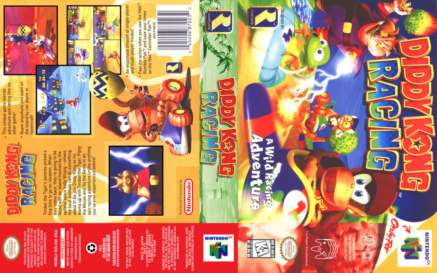 Diddy Kong Racing Ugc Cover By Vladictivo On Deviantart