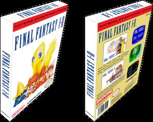 Final Fantasy I - II Box Preview by vladictivo