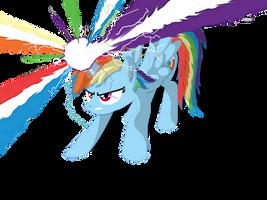If Rainbow Dash was an Alicorn...(Redone) by Neriani