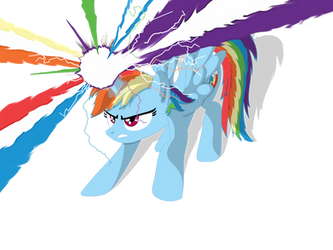 If Rainbow Dash was an Alicorn...(Redone) by Neriani