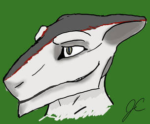 Sergal head design plan by shishikokoroyuki