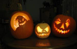 Pumpkins by reine-de-glace